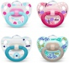 NUK Dudlík Classic HAPPY DAYS duo pack, SI, V2 (6-18m.) SRP