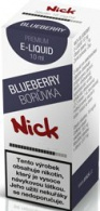 Liquid Nick Blueberry Low 10ml-6mg (Borůvka)