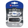 16GB USB Flash 3.0 V3 Store\'n\'Go černý Verbatim P-blist