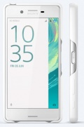 SBC22 Sony Style Back Cover pro Xperia X White