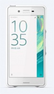 SBC30 Sony Style Back Cover pro Xperia X Performance White