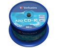 VERBATIM CD-R(50-Pack)Spindle/Crystal/DLP/52x/700MB